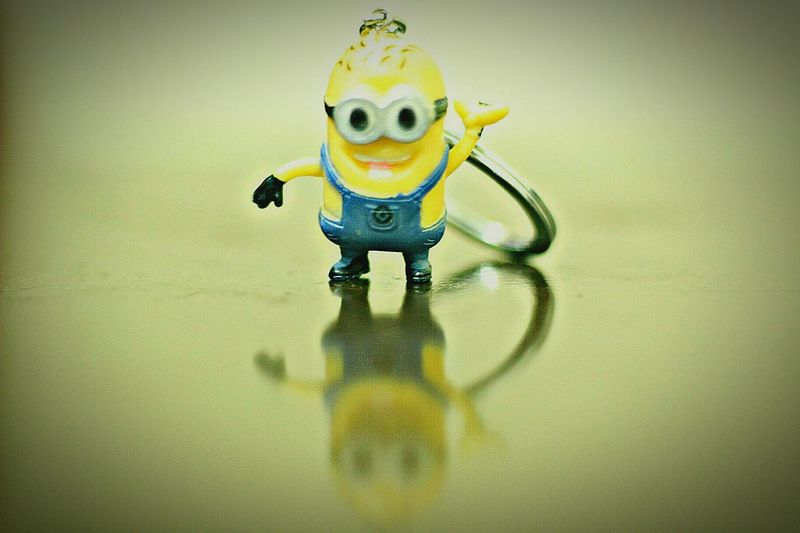 yellow no people childhood Standing Minion minion love Macro Photography Reflection reflections and shadows EyeEmNewHere