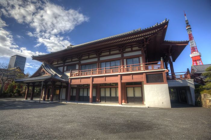 Japanese Temple Pagoda Architecture Asian Temple Building Exterior Built Structure Day No People Outdoors Sky Temple Travel Destinations Tree