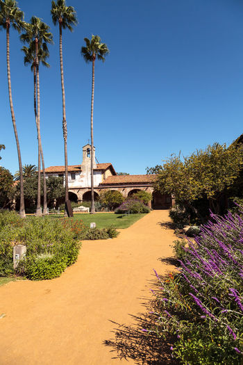 San Juan Capistrano, CA, USA —September 25, 2016: The Mission San Juan Capistrano bells in Southern California, United States. Editorial use only. Bells California California Landmarks Church Day Flowers Garden Landmark Mission No People Outdoors Ruins San Juan Capistrano San Juan Capistrano Mission United States