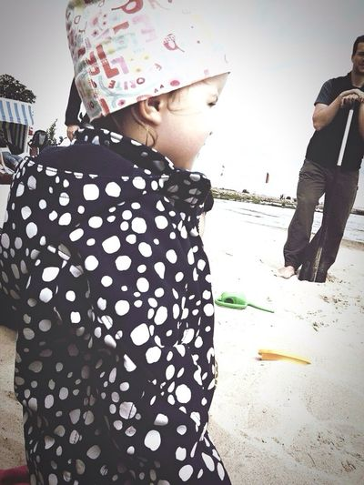Memories Child People Sea Beach Rain ückermünde