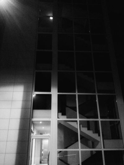 Night Photography Fading Light Architecture Curtain Walls Glass And Metal Mobile Photography Black And White Mobile Editing