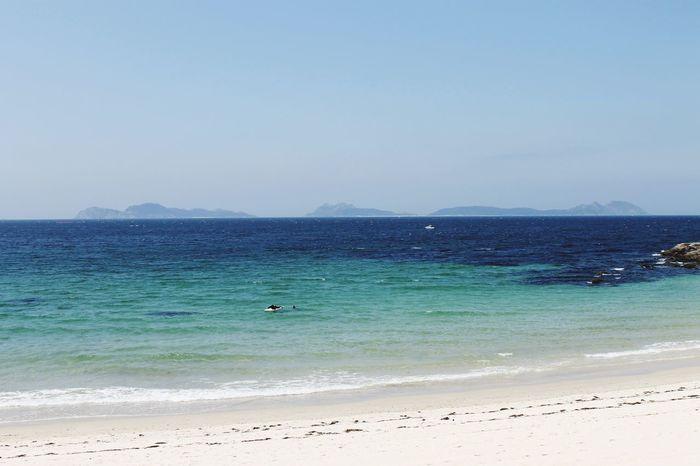 Vigo, Galicia (España) #vigo #galicia #pontevedra #spain #españa Ciesislands Islas Cies Illas Cìes Playa Beach