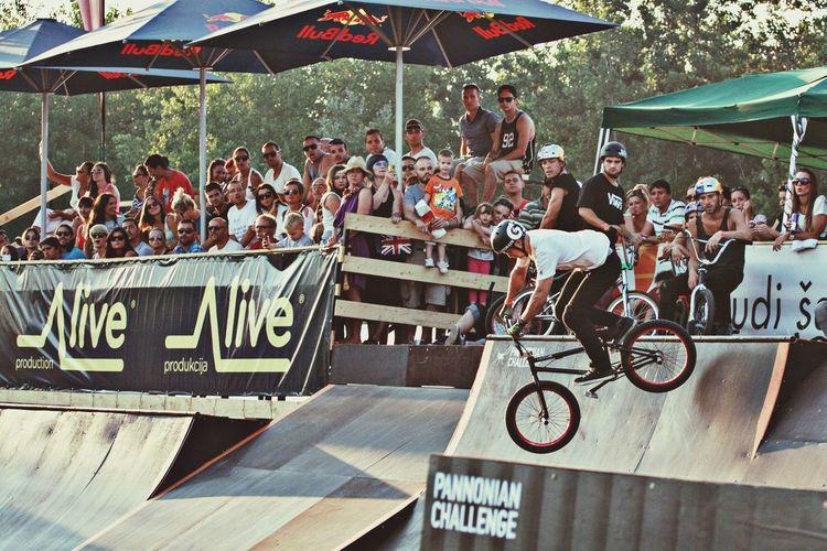 Spencer Bass at Pannonian Challenge Pannonian Challenge Skatepark Bmx  BMX Contest