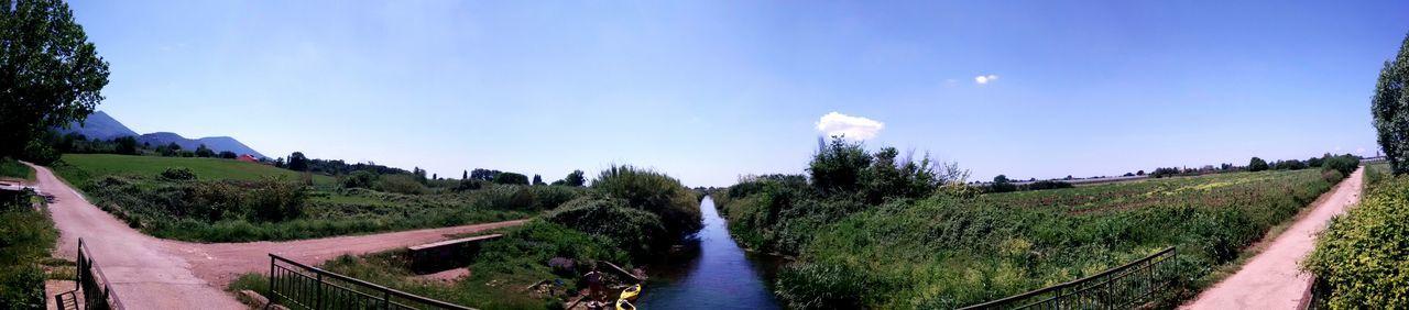 My Favorite Photo Nature Dyke  Near Ninfa Gardens