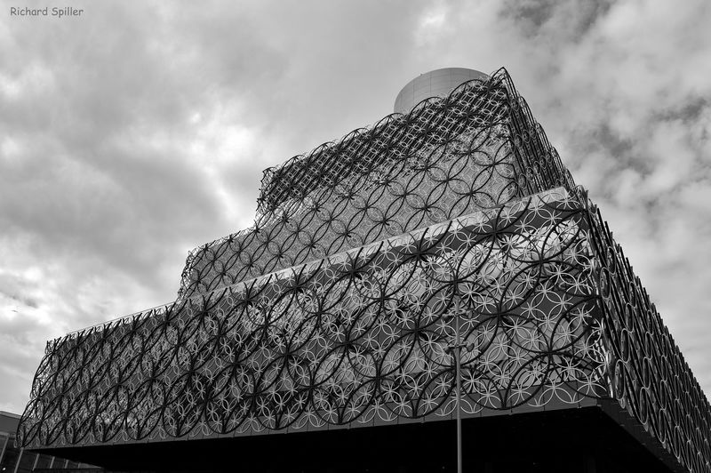 Architecture Birmingham Birmingham Library Birmingham UK Black And White Blackandwhite Blackandwhite Photography Bnw Building Building Exterior Check This Out Drama England Hello World Monochrome My World New Building  Nikon Nikon D3200 Sky Streetphotography Tall Urban Urbanphotography 100likes