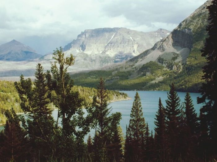 Mountain View Mountains Beautiful Nature Glaciernationalpark Nature Eye4photography