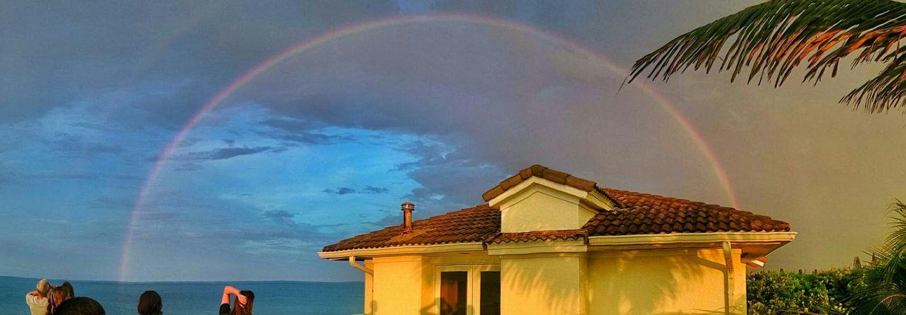 Biggest rainbow I've seen Rainbow First Eyeem Photo