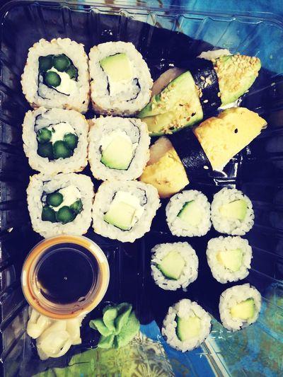 It's Sushi time :D Avocado Gurke