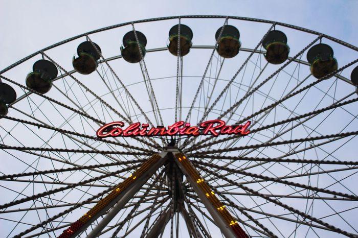 Columbia Rad Innenstadt Weihnachtsmarkt Big Wheel Duisburg Germany Canon EOS 600D DSLR Christmastime MerryChristmas Frohe Weihnachten Riesenrad
