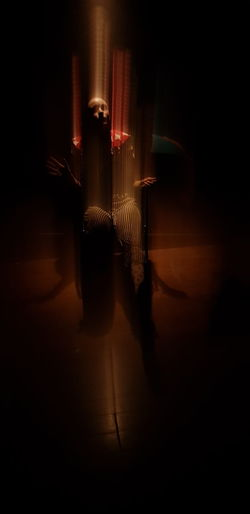 Night Illuminated Reflection Shadow No People Indoors  Actress Clown Payaso Palhaço Circus Circo