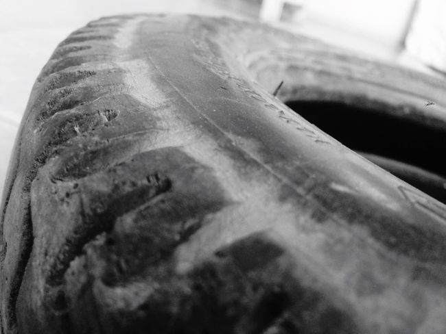 Tyre of my Activa Black And White photography by IPhone5