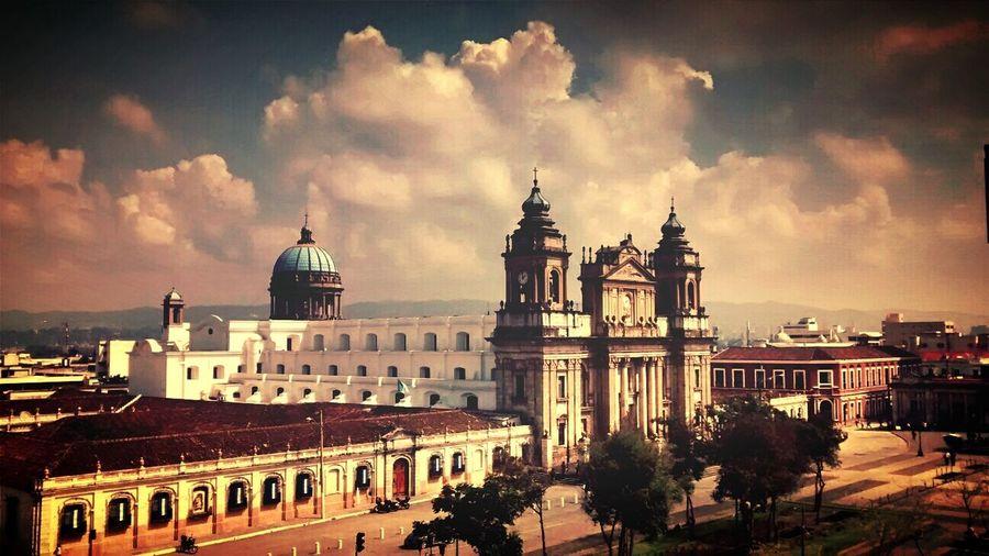 Cathedral city of Guatemala Centro America Preciosa Panajachel  Iglesia