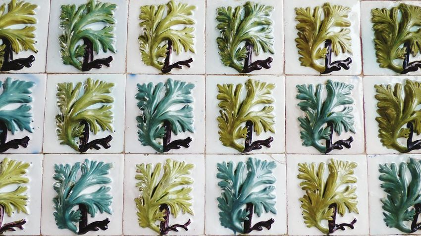In A Row Art Wall - Building Feature Wall Wall Decorations Crafting Portuguese Tiles Architecture Portuguese Tiles  Decorations Tradicional Portuguese Tiles Tiles Textures Tiles Art Tiles Architecture Tiles, Ceramic, Colorful, Color, Craft, Artistic, Blue, Pink
