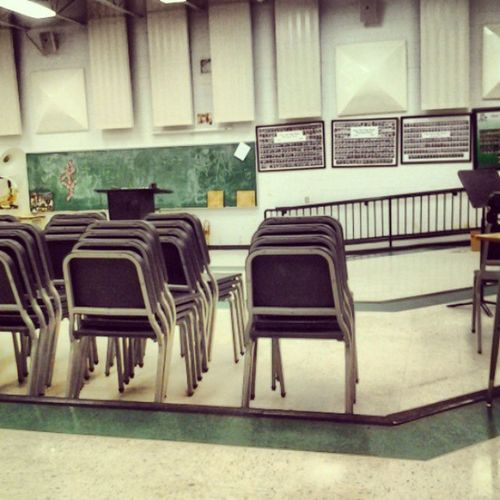 The Bandroom , my home away from home<3 Bandgeek