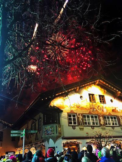 Enjoying The View Fireworks City Biathlon Nightphotography Light Colors Gapa1516
