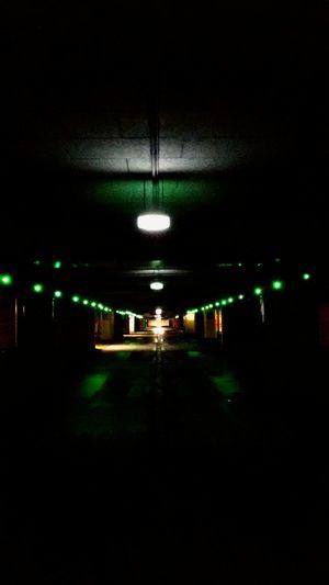 Parking Garage Goyourownway DontBeAfraid  Lights Green Light Urban Eyemphotography