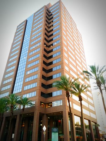 Taking Photos Enjoying Life Highrise Mytown As Usual💚 Downtownphoenix been a while I'm back!