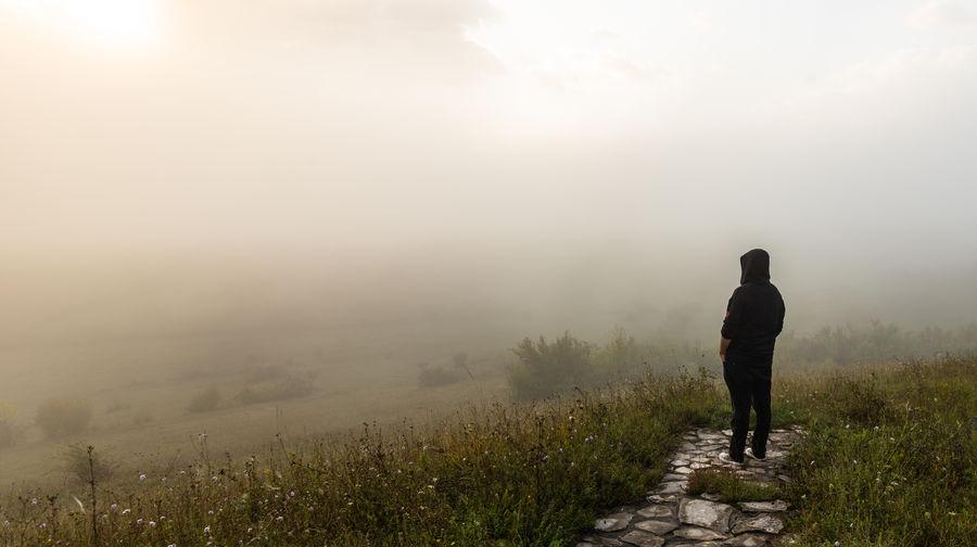 Fog One Person
