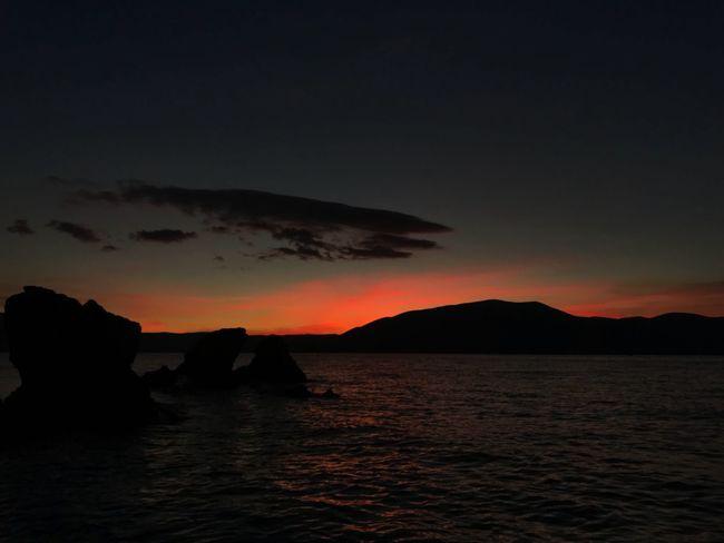 radhime Vlore Albania 🇦🇱 #albania #Radhime Sea Water Sunset Nature Sky Day Outdoors Beauty In Nature Vlore Albania Radhime