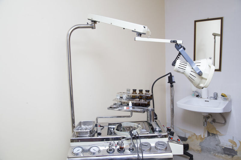 Surgical light in clinic