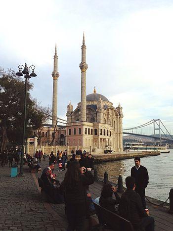 Gezgin İstanbul'da Ortaköy Mosque