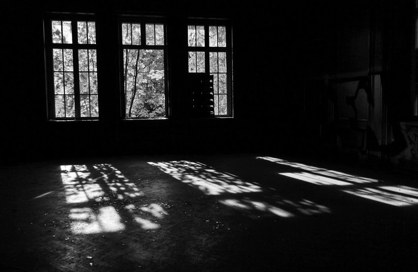 S/w Window Shadow Indoors  Day Sunlight No People Architecture Empty Building Abandoned Absence Built Structure Dark Krampnitz Kaserne Trzoska