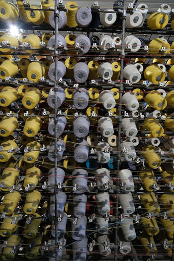 Full frame shot of objects for sale