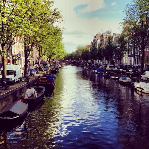 Amsterdam canal beautiful