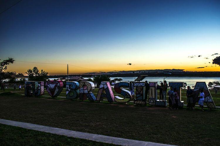 Brasília Brasil Nikon City Sunset Pordosol Skyporn Sky Céu Azul