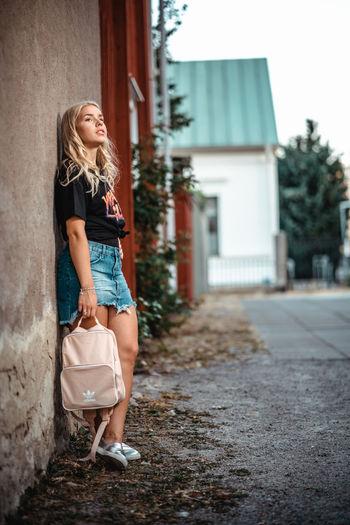 Sweden Blond Girl Kalma Model Model Pose Modelgirl Modeling Summer
