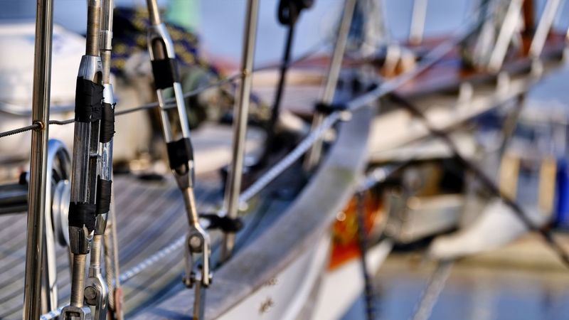 Harbour Bowsprit Close-up Day Nautical Vessel No People Outdoors Rope Sailing Ship Travel Destinations This Is Masculinity Summer Exploratorium