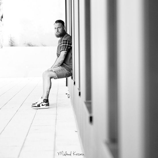 """La Barbe , plus qu'un style - une philosophie - """" Poil par poil, toute la barbe viendra."""" - Proverbe russe Photographie du frère Rémi ✘ Miloud Kerzazi ✘ Droits réservés - la galerie est disponible dans le site www.sous-france.fr - Sneakers Supreme Tatoos Beard Barbe Sneaks Olympus OMD5"""