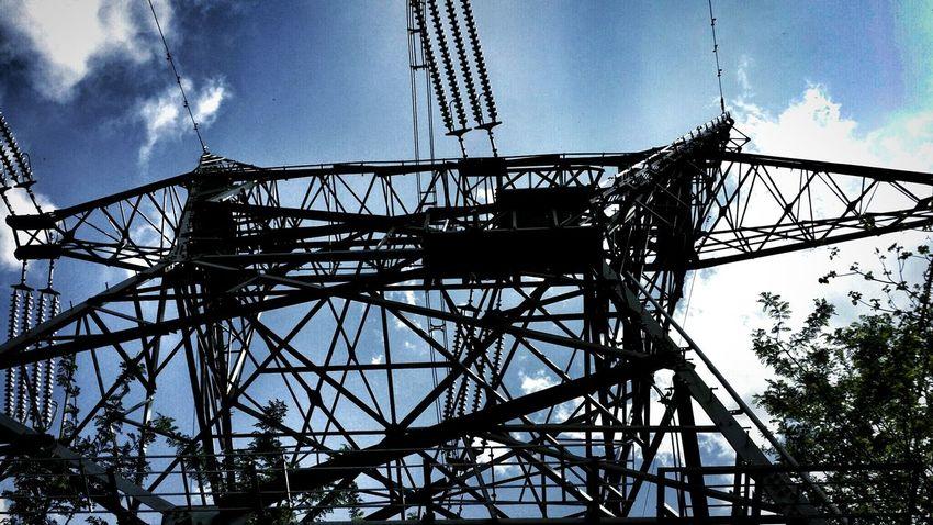 鉄塔♡Love Steel Tower 💙 Love Steel Tower  From My Point Of View Lookingup Hello World Silhouette Light And Shadow *CHIE*