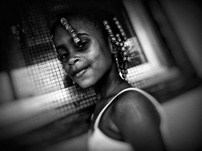 Blackandwhite Beautiful Beautiful Kid