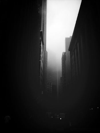 Streetphotography Foggy Morning Black And Less White