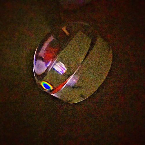 Background High Angle View Circle Multi Colored Symbol Geometric Shape No People Color Manipulation Colorful Magnifier Night Indoors  Reflections From Tv Abstract Abstract Photography
