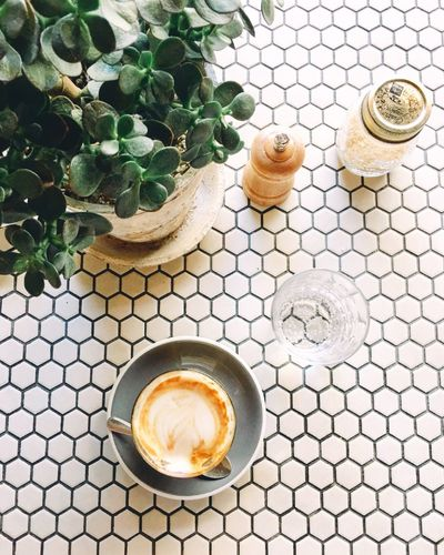 Coffee Time ☕️ Coffee Green Coffee Shop Summer Holidays Time For Myself Leisure Activity Table Setting Coffee Break Coffe Lover IPhoneography