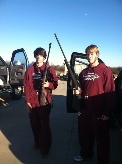 What Do We Do Before Semi Final Football Game? Shoot Our .270's