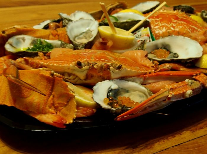 Holiday Hamilton Island Seafood Crab What's For Dinner? On My Plate Travel Bon Appetit