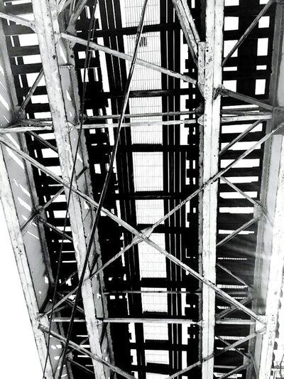 Chicago El Train Tracks The El