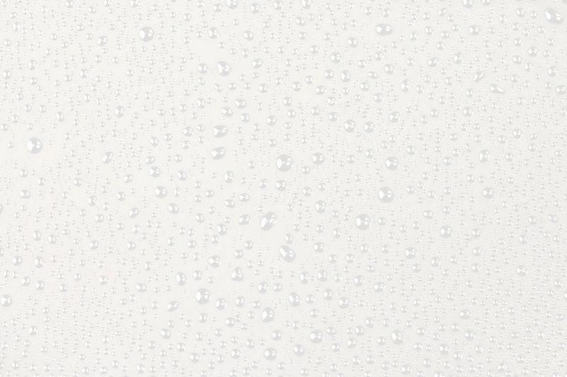 Full frame shot of wet glass against white background