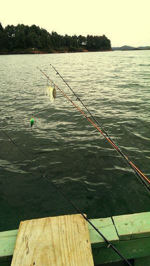 The Human Condition Relaxing fishing