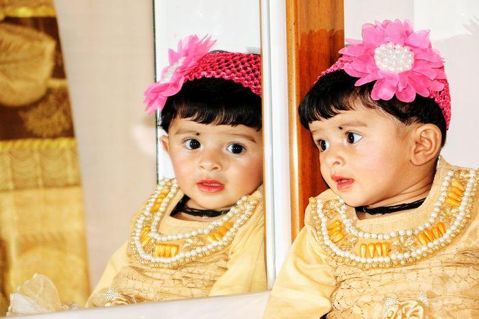 Babygirl Cute People Indoors  MyBabyGirl  Karachi EyeEm Enjoy The New Normal Eye4photography  Paint The Town Yellow Paint The Town Yellow EyeEmNewHere AI Now