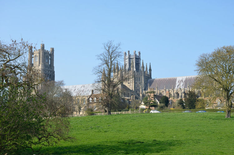 Architecture Building Exterior Built Structure Cambridgeshire Cathedral Ely Fenland Fens Gothic Norman Outdoors Religious