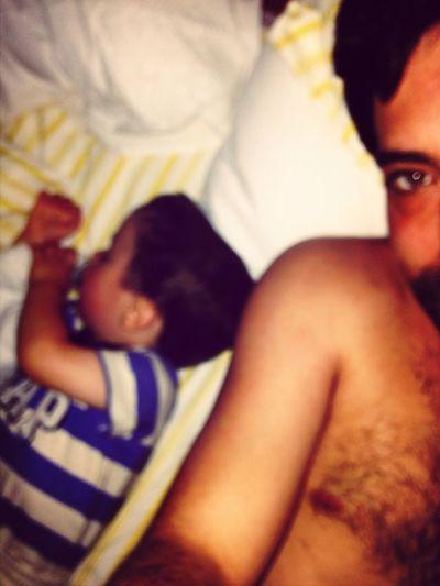 Eu e o meu príncipe no relax...