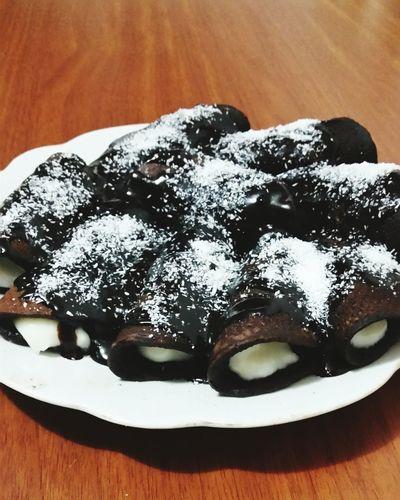 Delicious ♡ Delicious Chocolate Chocolate♡ Calories Fat Crema Dessert Dessertporn Dessert Time