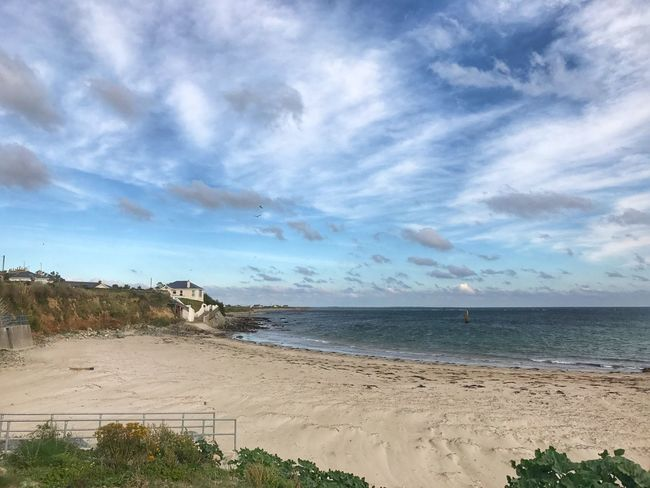 Rosslaire beach Wexford Horizon Over Water Water Beach Tranquil Scene Sky Tranquility Shore Coastline Cloud Outdoors Coastal Feature Seascape