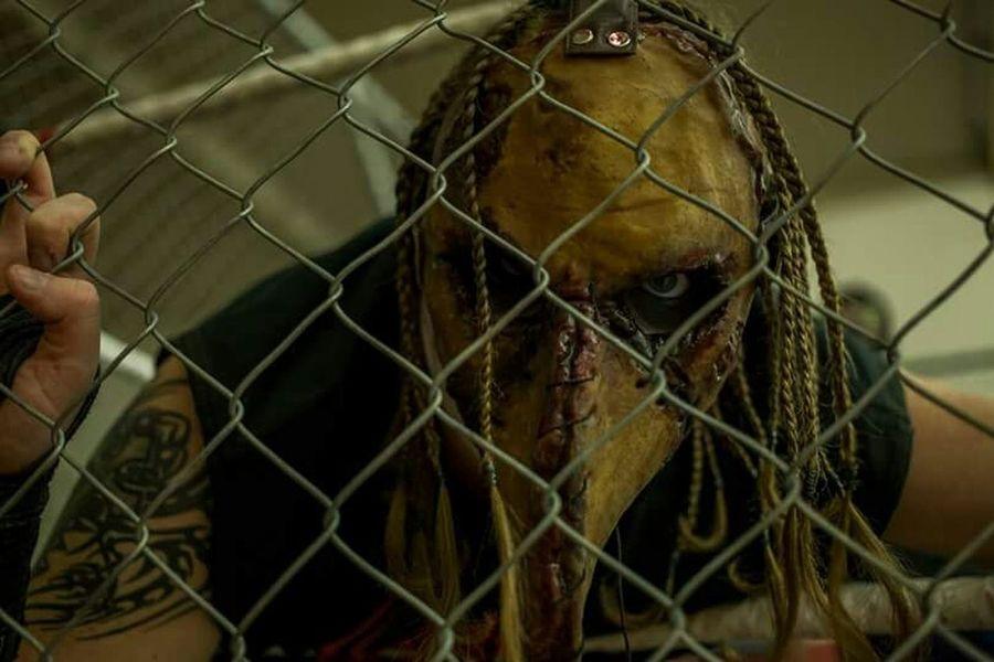 Wrestler Wrestling Evil Evil Eye Horror Insane Steel Cage