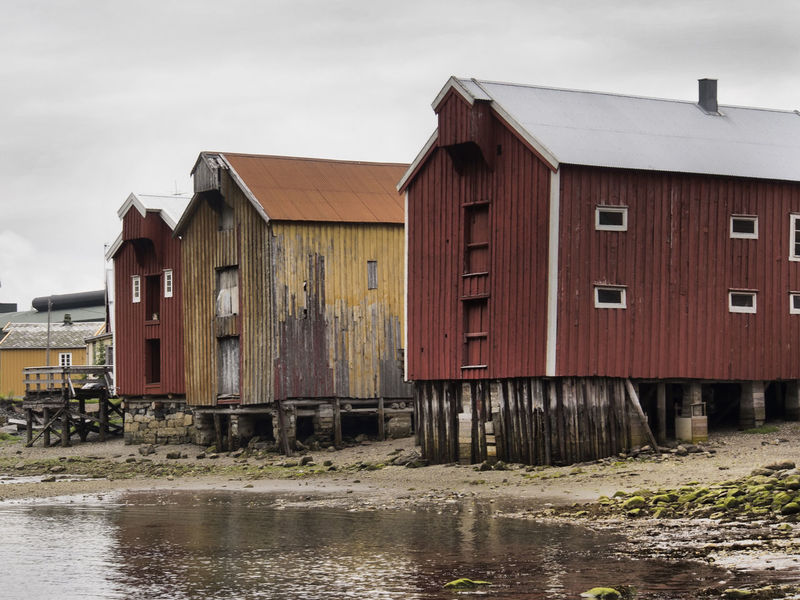 Abandoned Architecture Barn Built Structure Deterioration Obsolete Old Roof Shores Struts SUPPORT Wood Wooden Wooden House