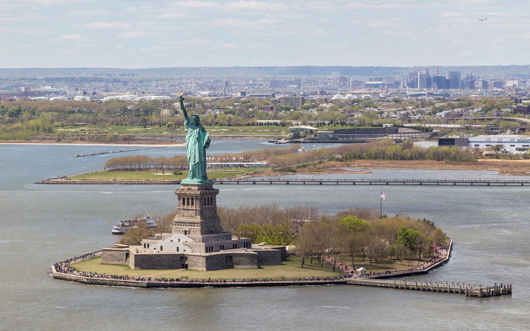 Statue of Liberty from above. Architecture Arial Arial Shot City City City Life City View  Cityscape Cityscape Cityscapes Helicopter Helicopter View  Liberty Island New York New York Arial Shot New York City New York From Above Newyork Newyorkcity Statue Of Liberty Travel Travel Photography Travelphotography Water Waterfront